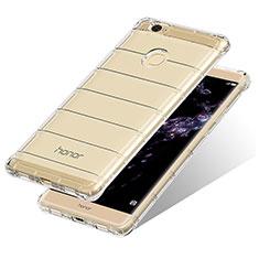 Silikon Schutzhülle Ultra Dünn Tasche Durchsichtig Transparent T10 für Huawei Honor V8 Max Klar