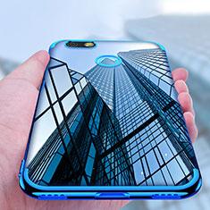 Silikon Schutzhülle Ultra Dünn Tasche Durchsichtig Transparent T10 für Huawei Y6 Pro (2017) Klar