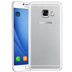 Silikon Schutzhülle Ultra Dünn Tasche Durchsichtig Transparent T10 für Samsung Galaxy C9 Pro C9000 Klar