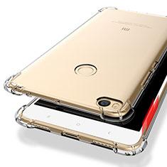 Silikon Schutzhülle Ultra Dünn Tasche Durchsichtig Transparent T10 für Xiaomi Mi Max 2 Klar