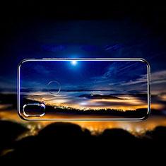 Silikon Schutzhülle Ultra Dünn Tasche Durchsichtig Transparent T10 für Xiaomi Mi Mix 3 Schwarz
