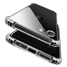 Silikon Schutzhülle Ultra Dünn Tasche Durchsichtig Transparent T11 für Apple iPhone 6S Plus Blau