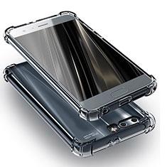 Silikon Schutzhülle Ultra Dünn Tasche Durchsichtig Transparent T11 für Huawei Honor 9 Premium Klar