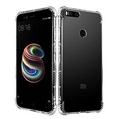 Silikon Schutzhülle Ultra Dünn Tasche Durchsichtig Transparent T11 für Xiaomi Mi 5X Klar