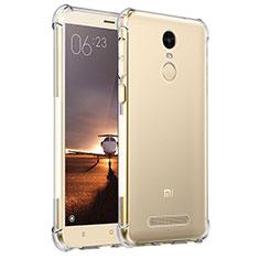 Silikon Schutzhülle Ultra Dünn Tasche Durchsichtig Transparent T11 für Xiaomi Redmi Note 3 Klar