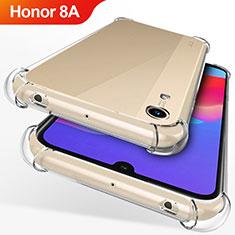 Silikon Schutzhülle Ultra Dünn Tasche Durchsichtig Transparent T12 für Huawei Honor 8A Klar