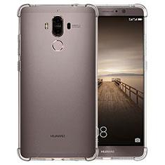 Silikon Schutzhülle Ultra Dünn Tasche Durchsichtig Transparent T12 für Huawei Mate 9 Klar