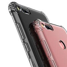 Silikon Schutzhülle Ultra Dünn Tasche Durchsichtig Transparent T12 für Xiaomi Mi A1 Klar