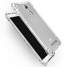 Silikon Schutzhülle Ultra Dünn Tasche Durchsichtig Transparent T12 für Xiaomi Redmi Note 3 Klar
