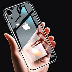Silikon Schutzhülle Ultra Dünn Tasche Durchsichtig Transparent T14 für Apple iPhone XR Klar