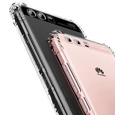Silikon Schutzhülle Ultra Dünn Tasche Durchsichtig Transparent T14 für Huawei Honor 9 Klar