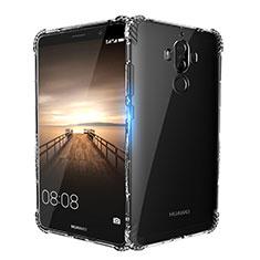 Silikon Schutzhülle Ultra Dünn Tasche Durchsichtig Transparent T14 für Huawei Mate 9 Klar