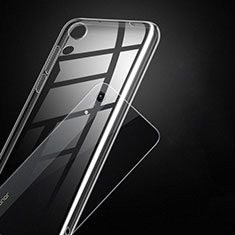 Silikon Schutzhülle Ultra Dünn Tasche Durchsichtig Transparent T14 für Huawei Y6 (2019) Klar