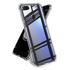 Silikon Schutzhülle Ultra Dünn Tasche Durchsichtig Transparent T14 für Xiaomi Mi A1 Klar
