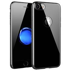 Silikon Schutzhülle Ultra Dünn Tasche Durchsichtig Transparent T15 für Apple iPhone 7 Klar