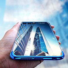 Silikon Schutzhülle Ultra Dünn Tasche Durchsichtig Transparent T15 für Huawei Honor 9 Premium Blau