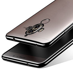 Silikon Schutzhülle Ultra Dünn Tasche Durchsichtig Transparent T15 für Huawei Mate 9 Schwarz
