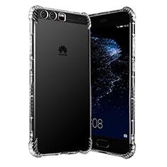 Silikon Schutzhülle Ultra Dünn Tasche Durchsichtig Transparent T15 für Huawei P10 Klar