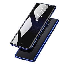 Silikon Schutzhülle Ultra Dünn Tasche Durchsichtig Transparent T15 für Samsung Galaxy S9 Plus Blau