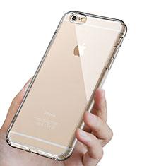 Silikon Schutzhülle Ultra Dünn Tasche Durchsichtig Transparent T16 für Apple iPhone 6S Plus Klar