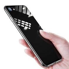 Silikon Schutzhülle Ultra Dünn Tasche Durchsichtig Transparent T16 für Apple iPhone 7 Klar