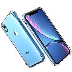Silikon Schutzhülle Ultra Dünn Tasche Durchsichtig Transparent T16 für Apple iPhone XR Klar