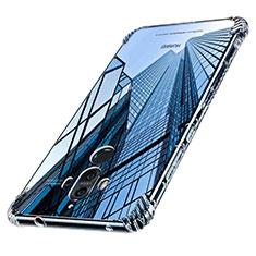 Silikon Schutzhülle Ultra Dünn Tasche Durchsichtig Transparent T16 für Huawei Mate 9 Klar