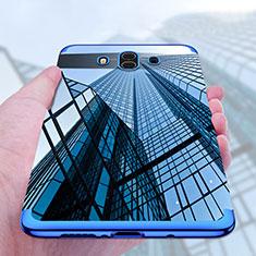 Silikon Schutzhülle Ultra Dünn Tasche Durchsichtig Transparent T17 für Huawei Mate 10 Blau