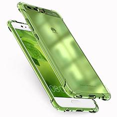 Silikon Schutzhülle Ultra Dünn Tasche Durchsichtig Transparent T17 für Huawei P10 Klar