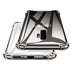 Silikon Schutzhülle Ultra Dünn Tasche Durchsichtig Transparent T17 für Samsung Galaxy S9 Plus Klar