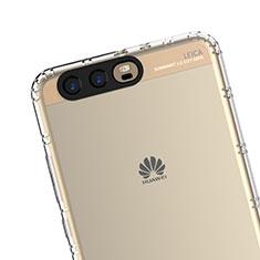 Silikon Schutzhülle Ultra Dünn Tasche Durchsichtig Transparent T19 für Huawei P10 Klar