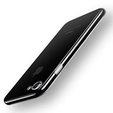 Silikon Schutzhülle Ultra Dünn Tasche Durchsichtig Transparent T20 für Apple iPhone 7 Klar