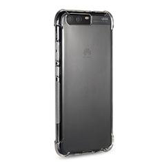 Silikon Schutzhülle Ultra Dünn Tasche Durchsichtig Transparent T20 für Huawei P10 Klar