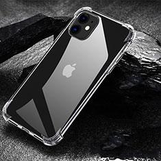 Silikon Schutzhülle Ultra Dünn Tasche Durchsichtig Transparent U01 für Apple iPhone 11 Klar