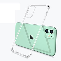 Silikon Schutzhülle Ultra Dünn Tasche Durchsichtig Transparent U03 für Apple iPhone 11 Klar