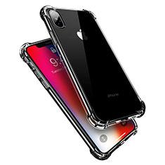 Silikon Schutzhülle Ultra Dünn Tasche Durchsichtig Transparent V10 für Apple iPhone Xs Max Klar