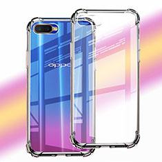 Silikon Schutzhülle Ultra Dünn Tasche Durchsichtig Transparent Z06 für Oppo K1 Klar