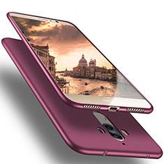 Silikon Schutzhülle Ultra Dünn Tasche für Huawei Mate 10 Pro Violett