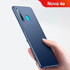 Silikon Schutzhülle Ultra Dünn Tasche für Huawei Nova 4e Blau