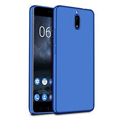 Silikon Schutzhülle Ultra Dünn Tasche für Nokia 6 Blau
