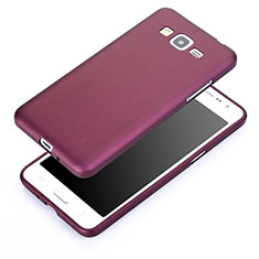 Silikon Schutzhülle Ultra Dünn Tasche für Samsung Galaxy Grand Prime 4G G531F Duos TV Violett