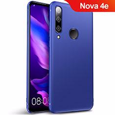 Silikon Schutzhülle Ultra Dünn Tasche S03 für Huawei Nova 4e Blau