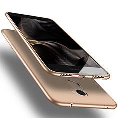 Silikon Schutzhülle Ultra Dünn Tasche S03 für Huawei Y7 Prime Gold