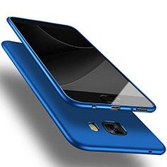 Silikon Schutzhülle Ultra Dünn Tasche S03 für Samsung Galaxy C9 Pro C9000 Blau