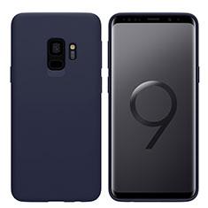 Silikon Schutzhülle Ultra Dünn Tasche S03 für Samsung Galaxy S9 Blau