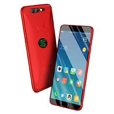 Silikon Schutzhülle Ultra Dünn Tasche S06 für Xiaomi Black Shark Rot