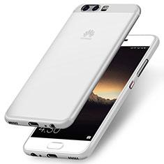 Silikon Schutzhülle Ultra Dünn Tasche Silikon für Huawei P10 Plus Weiß