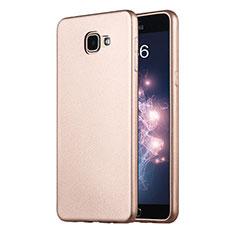 Silikon Schutzhülle Ultra Dünn Tasche Silikon für Samsung Galaxy A9 Pro (2016) SM-A9100 Gold