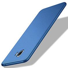 Silikon Schutzhülle Ultra Dünn Tasche Silikon für Samsung Galaxy C7 Pro C7010 Blau