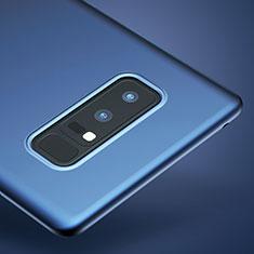 Silikon Schutzhülle Ultra Dünn Tasche Silikon für Samsung Galaxy Note 8 Duos N950F Blau